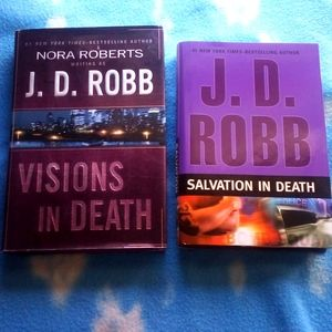 Set of 2 J.D. Robb Novels